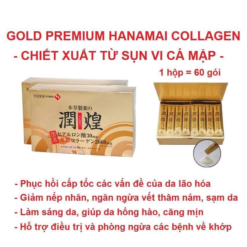 Collagen sụn vi cá mập gold premium hanamai - 2585968 , 338302048 , 322_338302048 , 735000 , Collagen-sun-vi-ca-map-gold-premium-hanamai-322_338302048 , shopee.vn , Collagen sụn vi cá mập gold premium hanamai