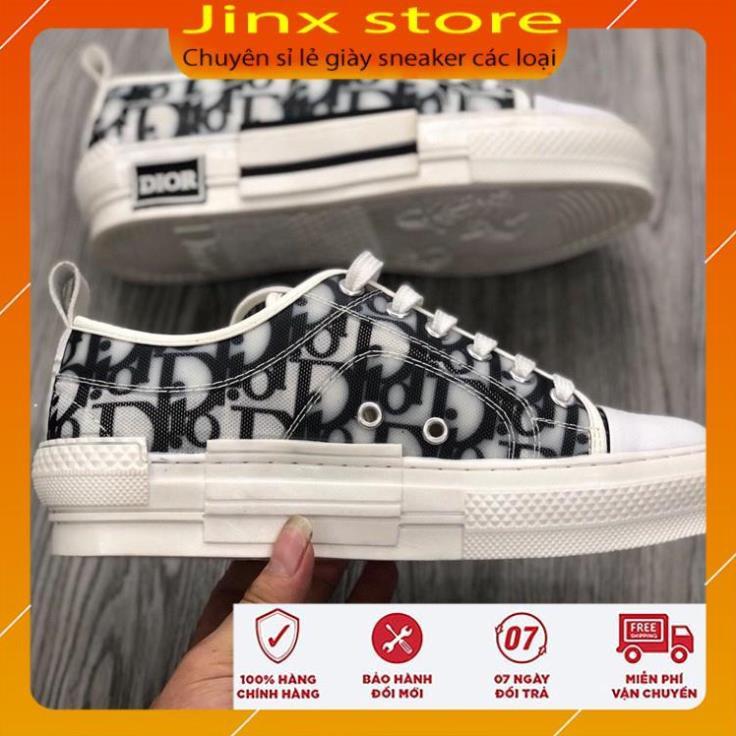 Giày thể thao dior cổ thấp cao cấp full phụ kiên - Jinx Store