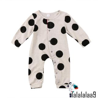 ❀Strawberries❀-Newborn Baby Infant Long Sleeve Clothes Button Romper Jumpsuit Round Neck Clothes New Style