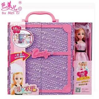 Hộp Quà Búp Bê Barbie Xinh Xắn Đáng Yêu