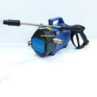 Máy rửa xe áp lực cao Amaxtools AMG1500w + Tặng 1 cút nối nhanh Đồng