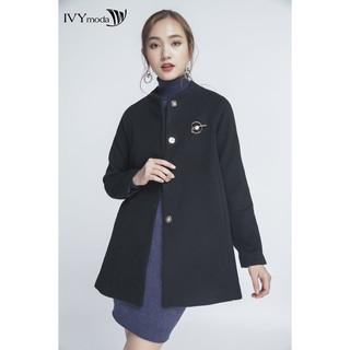 Áo khoác dạ Nữ dáng suông IVY moda MS 71M4156 thumbnail