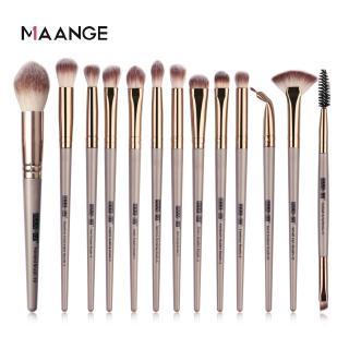 Hình ảnh MAANGE Bộ 13 Cọ Trang Điểm Sử Dụng Chuyên Nghiệp Make up Brush Set-1
