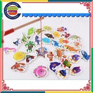 [Rẻ Vô Địch] Bộ đồ chơi câu cá 32 con