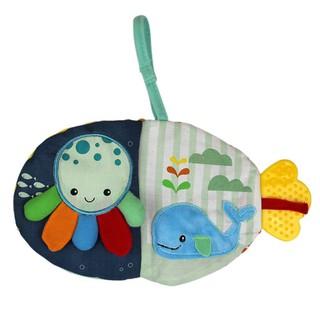 Sách vải hình động vật biển dễ thương cho bé