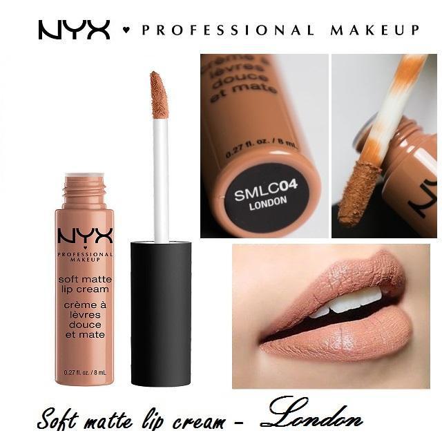 #04 London Son kem NYX chính hãng Soft Matte Lip Cream Màu SMLC04 - 14290286 , 2600524263 , 322_2600524263 , 69000 , 04-London-Son-kem-NYX-chinh-hang-Soft-Matte-Lip-Cream-Mau-SMLC04-322_2600524263 , shopee.vn , #04 London Son kem NYX chính hãng Soft Matte Lip Cream Màu SMLC04
