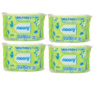 khăn ướt moony nội địa Nhật (80 miếng)