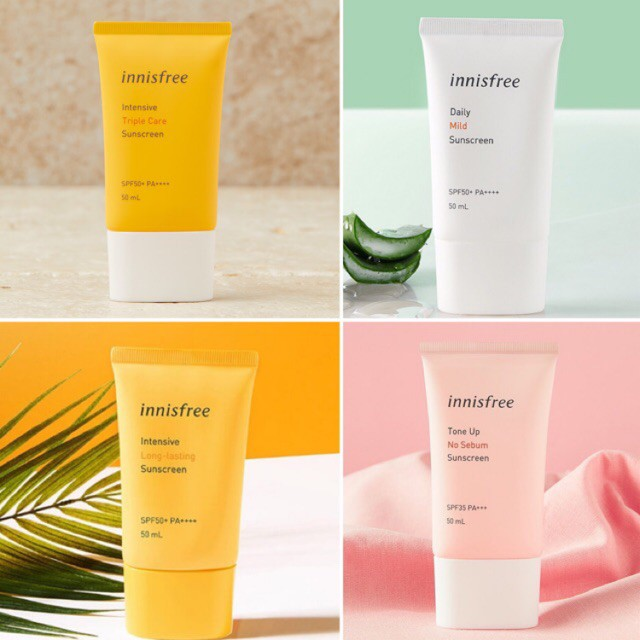 KEM CHỐNG NẮNG / INNISFREE / KEM CHỐNG NẮNG INNISFREE INTENSIVE TRIPLE CARE SPF 50+