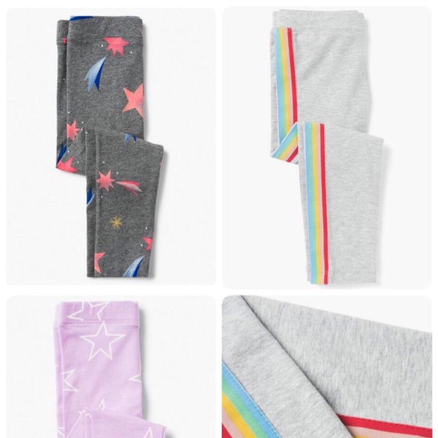 quần legging bé gái 4-14