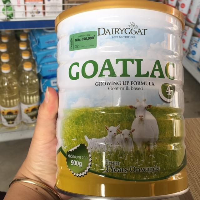 Sưa GOATLAC 4 (900g) dành cho trẻ từ 3 tuổi trở lên