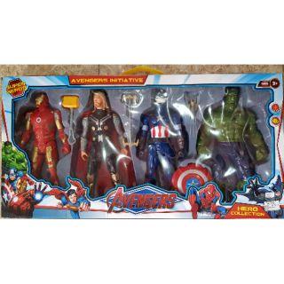 Hộp 4 siêu nhân Anvenger