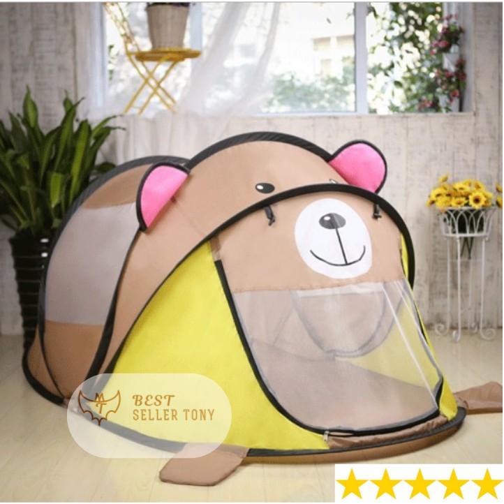 Lều ngủ tự động cho bé yêu Gấu Bobby