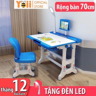 Bộ bàn ghế học sinh trẻ em thông minh chống gù chống cận kích thước lớn B02 50 x 70cm – Tặng kèm đèn LED 3 chế độ
