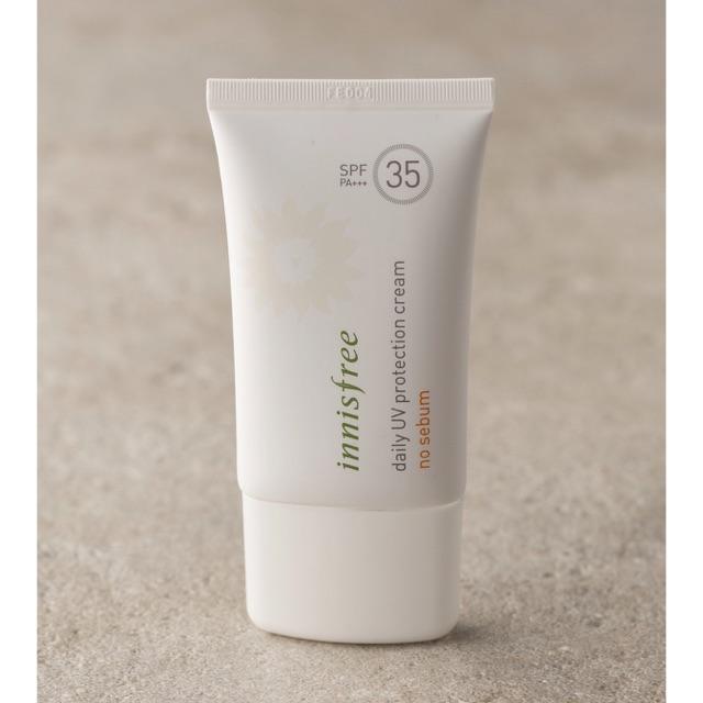 Kem chống nắng INNISFREE Daily UV Protection Cream - No Sebum