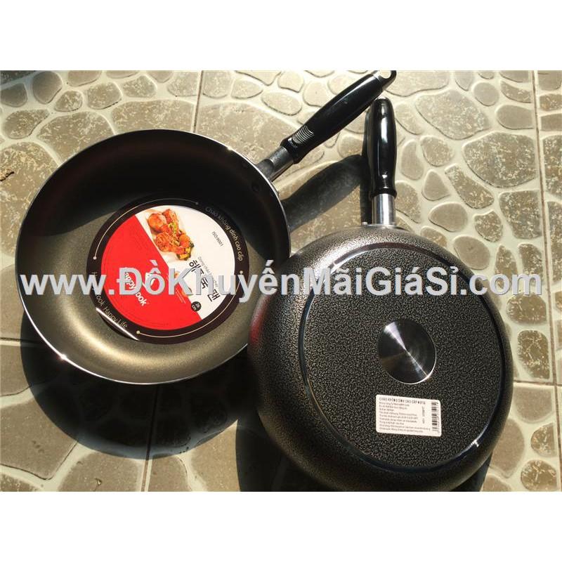 Chảo chống dính Happycook 1 quai cầm đường kính 26 cm - Mã sp: NSF26.