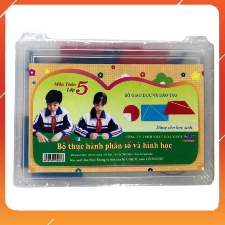 Bộ Đồ Dùng Toán Lớp 5 Nhật Hoa Minh _GIÁ RẺ