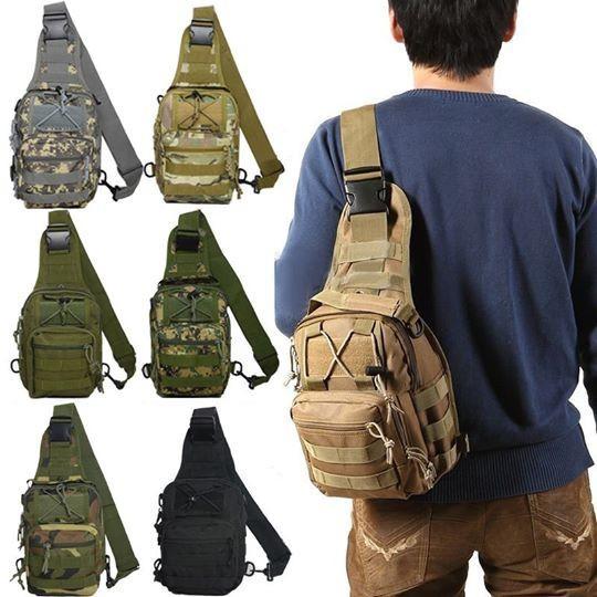 Túi đeo chéo nam nữ phong cách quân đội Army
