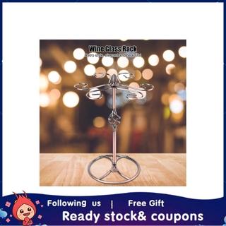 Xiyijia Straight Retro Style Wine Glass Rack Holder Cup Hanging Shelf Organizer for Home Bar Restaurant