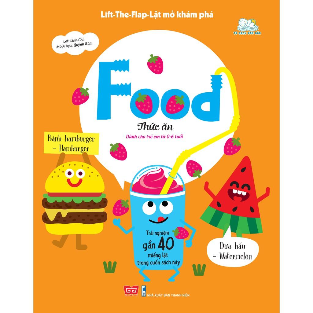 Sách - Lift-The-Flap-Lật mở khám phá - Food - Thức ăn
