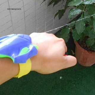 NAME Summer Beach Outdoor Sports Children Wrist Fight Water Blaster Gun Bath Toy