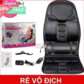 Nệm Massage Toàn Thân HÀNG HÃNG 100% – Nệm Massage Cho Xe Hơi, Ghế Văn Phòng, Tại Nhà,…