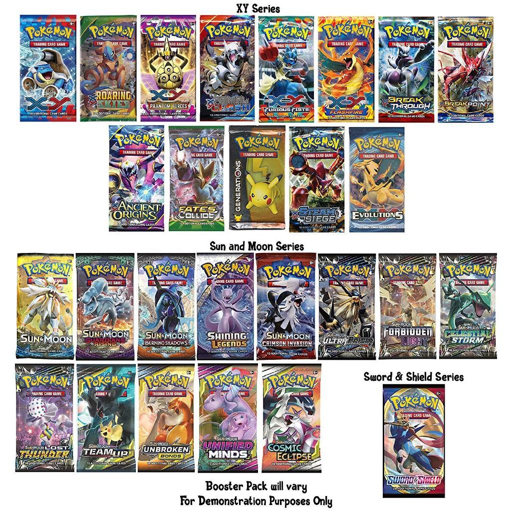 Bộ 34 Thẻ Bài Pokemon