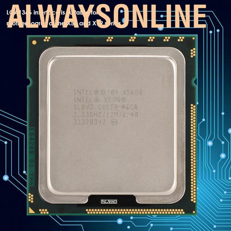 Phụ kiện CPU chính hãng cho Intel Xeon X5680 Six-Core Twelve Threads 3.33GHz 12M Cache LGA1366