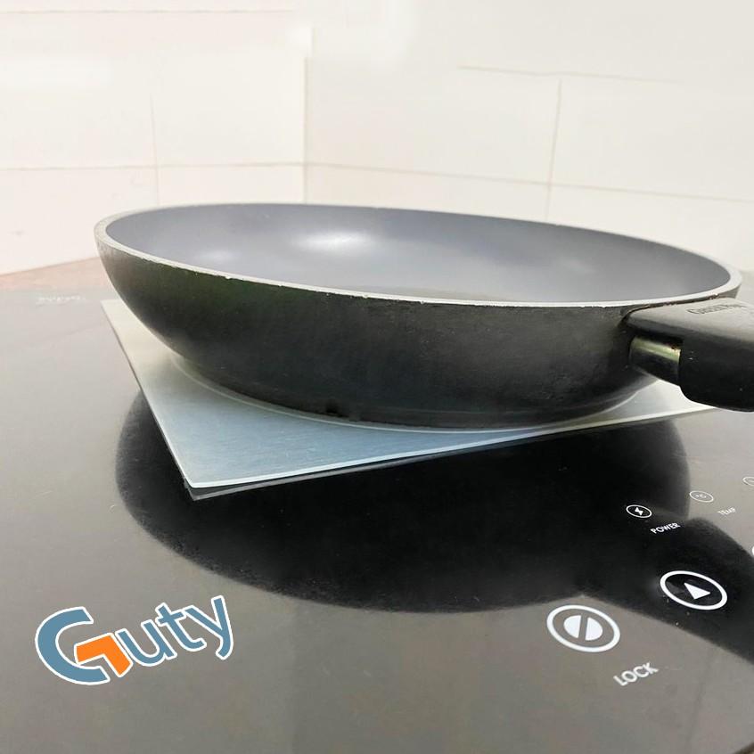 Miếng lót bếp từ silicone Proki cao cấp chống trầy xước bếp, chịu lực, giữ vệ sinh, tiết kiệm điện, chống cháy nồi