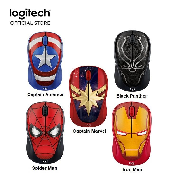 Chuột không dây Logitech M238 Marvel Collection