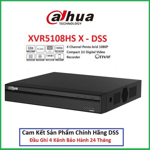 Đầu ghi 5in1 8 kênh Dahua XVR 5108HS-X1 Chính Hãng DSS