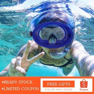 [Nearbeauty] Full Wide View Snorkeling Scuba Diving Mask Anti-fog Waterproof Silicone Dive Equipment thumbnail