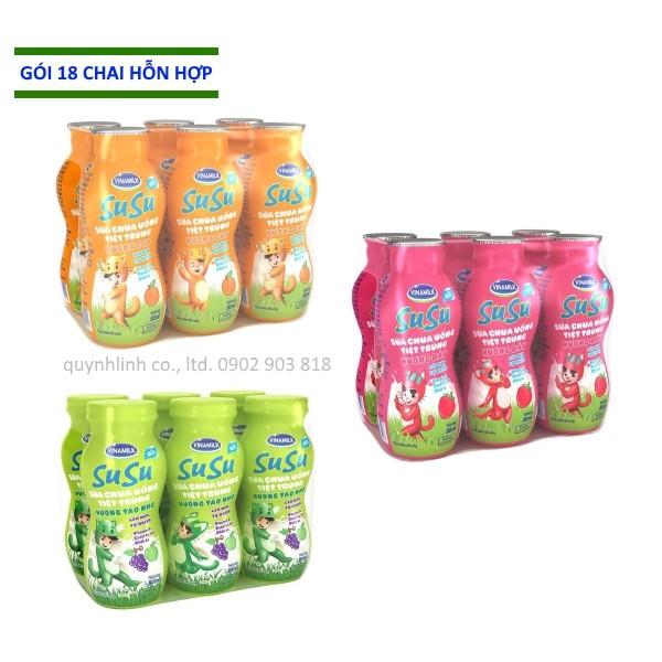Sữa chua uống Vinamilk SuSu: 18 chai 80ml hỗn hợp - 3432232 , 762323597 , 322_762323597 , 67914 , Sua-chua-uong-Vinamilk-SuSu-18-chai-80ml-hon-hop-322_762323597 , shopee.vn , Sữa chua uống Vinamilk SuSu: 18 chai 80ml hỗn hợp