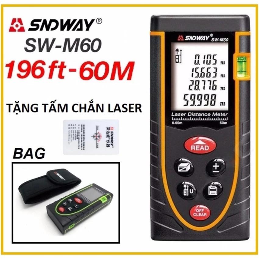 Thước đo khoảng cách bằng tia laser SNDWAY SW-M60 phạm vi đo 60m - 3403524 , 591419821 , 322_591419821 , 1430000 , Thuoc-do-khoang-cach-bang-tia-laser-SNDWAY-SW-M60-pham-vi-do-60m-322_591419821 , shopee.vn , Thước đo khoảng cách bằng tia laser SNDWAY SW-M60 phạm vi đo 60m