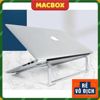 Giá đỡ Macbook kiêm đế tản nhiệt Laptop nhôm L230 chắc chắn, gấp gọn, kê cao tản nhiệt tốt. thumbnail