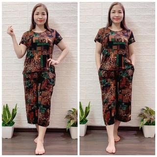 Đồ bộ trung niên giá rẻ – Set bộ mặc nhà cho mẹ – Bộ mặc nhà mùa hè