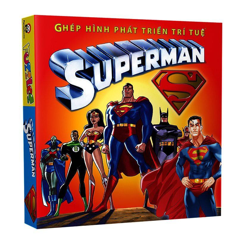 [Sách] Ghép Hình Phát Triển Trí Tuệ - Superman