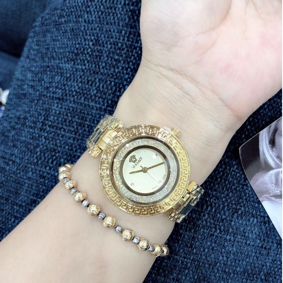 Đồng hồ Versace nữ dáng mới  nhẹ nhàng sang chảnh