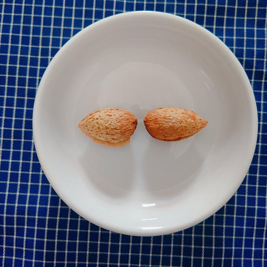 Hạnh Nhân Mỹ Vỏ Mỏng Rang Bơ Muối- 100g- HANIGO FOOD