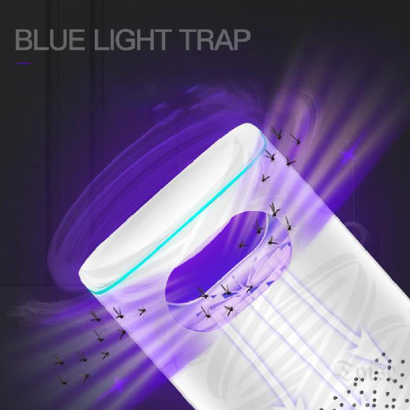 Mosquito lamp household led inhalation mosquito trap trap mute usb mosquito photocatalyst trap 994