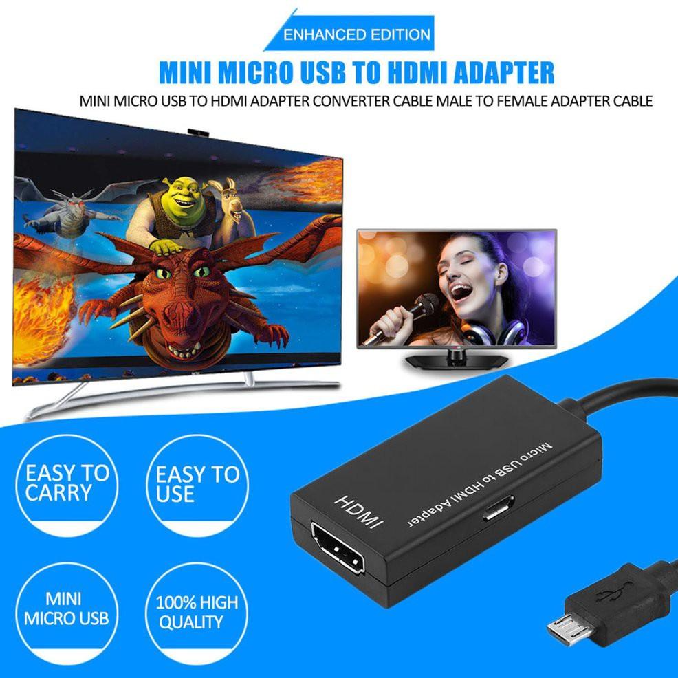 Cáp Chuyển Đổi Mini Micro Usb Sang Hdmi N27