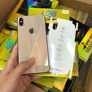 Miếng Dán Lưng iphone PPF Trong Suốt 7 Màu Cho Iphone 6/7/8 Plus/ X/ Xs Max iPho