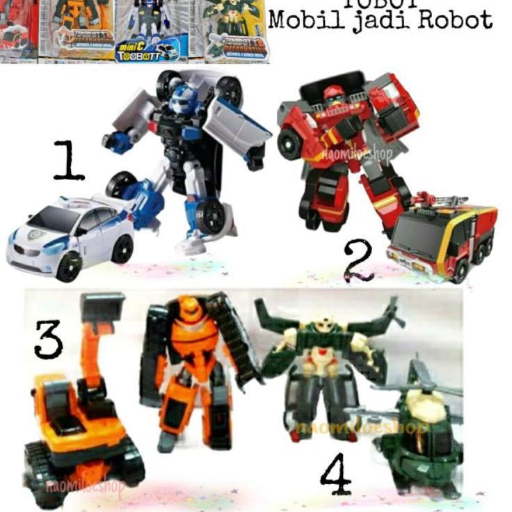Đồ Chơi Robot Biến Hình 5.5 Độc Đáo Thú Vị Cho Bé