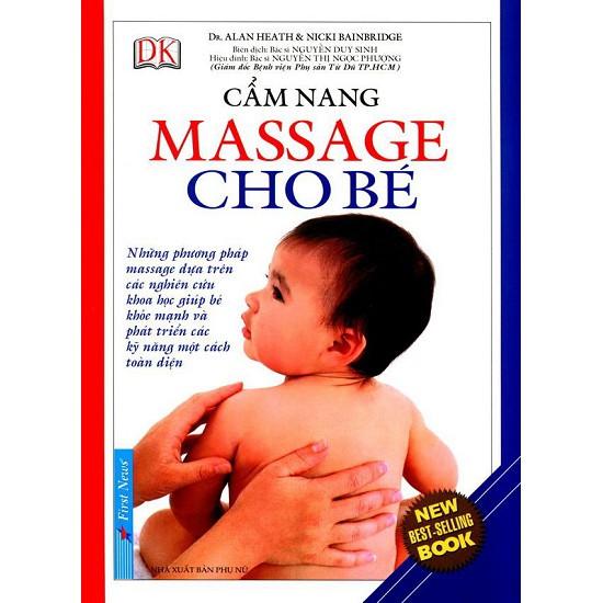 Sách - Cẩm Nang Massage Cho Bé