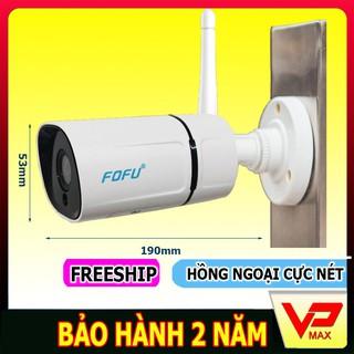 [Chính hãng] Camera wifi an ninh ngoài trời Fofu siêu nét 2.0MP bảo hành 2 năm – VPMAX