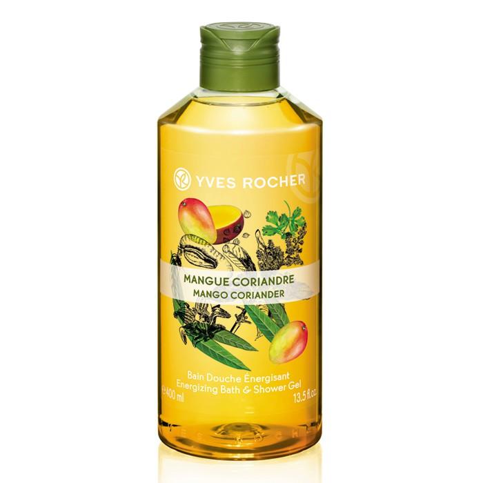 Sữa tắm Yves Rocher hương xoài và rau mùi 400ml