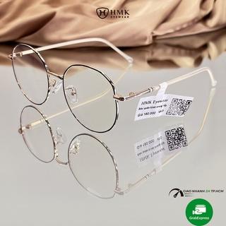 Gọng kính cận nam nữ HMK chất liệu nhựa dẻo màu sắc thời trang 9121 thumbnail