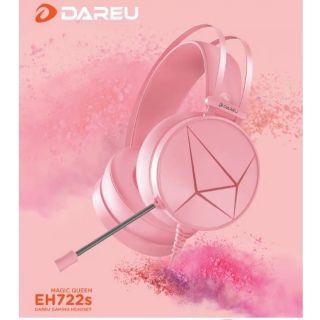 Tai nghe DAREU EH722s Pink/ Magic queen – Hồng cá tính