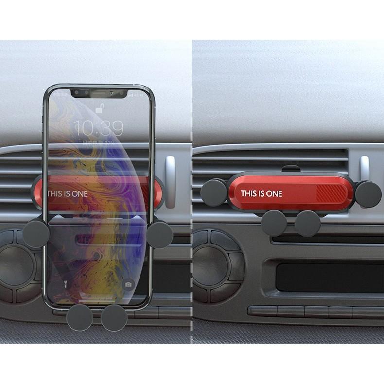 Giá đỡ điện thoại trên xe hơi gắn khe gió điều hòa