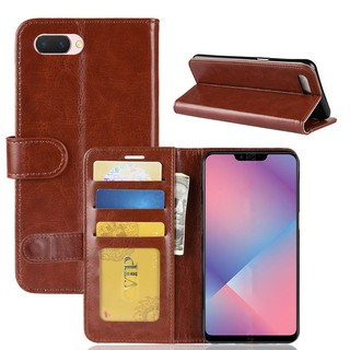Luxury Leather Case With OPPO A3S A5 A3 F7 A71 A83