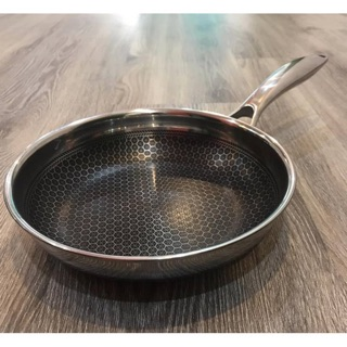 Chảo bếp từ cào không xước T&K Blackcube 20/22/24/26/28/30cm Hàn quốc, chống dính Daikin nhật siêu bền, chiên rán ít dầu